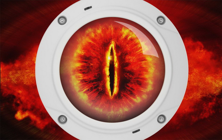 fish-eye для видеонаблюдения