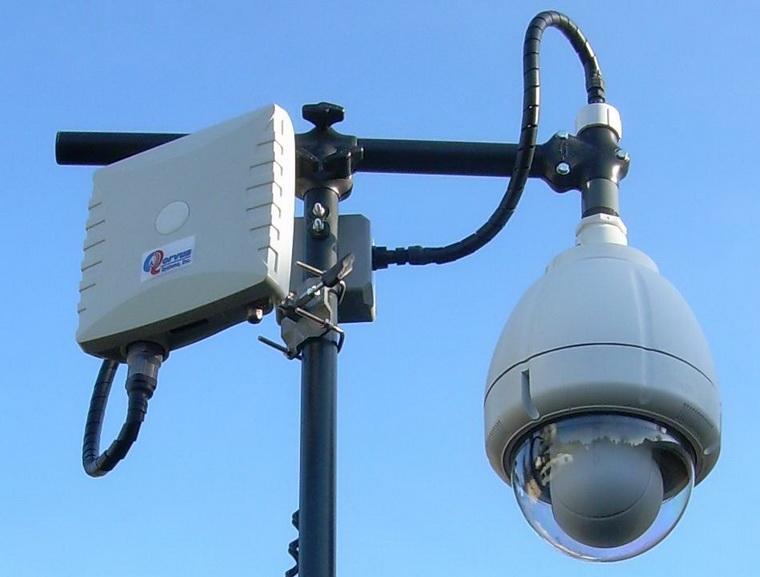 Радиоканал в системах видеонаблюдения